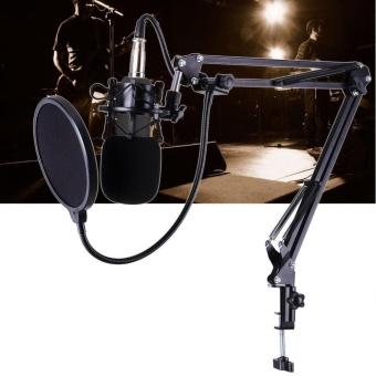 BM-700 Studio Broadcasting Recording Condenser Microphone(Black) - intl - 3