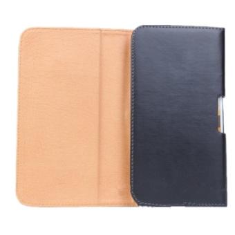 BONVAN Universal Leather Belt Pouch Case Cover Holster Belt Clipfor Various Mobile 4.0 inch-5.0 inch - intl - 2
