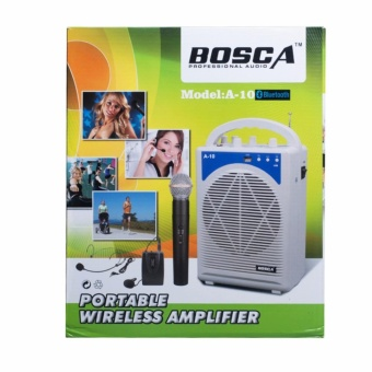 Bosca A-10 Teach Portable Voice Amplifier with Bluetooth (White)#0124