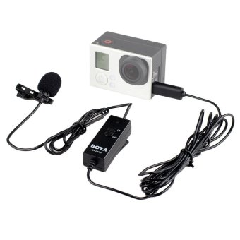 BOYA BY-GM10 Pro Audio Lavalier Microphone Mic for GoPro HD Hero 43+ 3 Camera