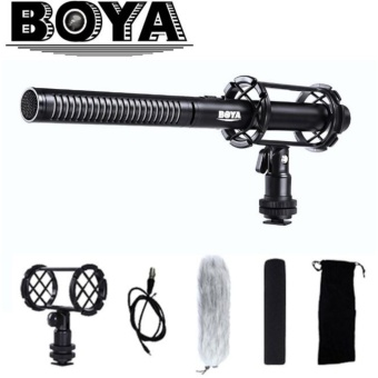 Boya BY-PVM1000 Professional Condenser Shotgun Microphone Video Interview Reporting for Canon Nikon Sony DSLR Cameras