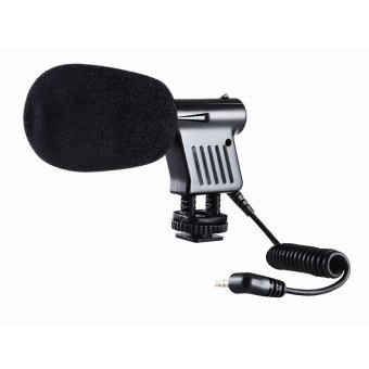 BOYA BY-VM01 Directional Video Condenser Microphone for Canon Nikon DSLR Camcorder
