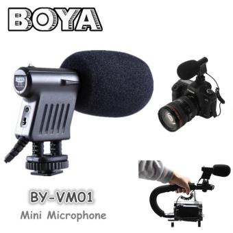 BOYA BY-VM01 Directional Video Condenser Microphone for Canon NikonDSLR Camcorder Price Philippines