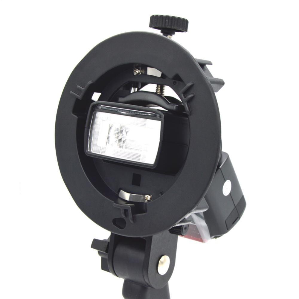 Bracket Pro Mount Adapter Holder for Speedlite Snoot Flash Softboxw/ Hand - intl