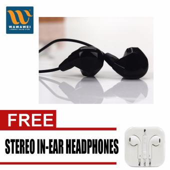 BT-8 Bluetooth Wireless Headset Stereo Headphone Earphone SportUniversal Handfree with free Stereo In-Ear Headphone (White)