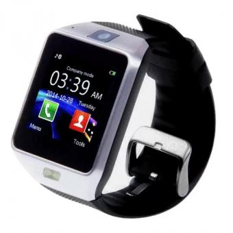 BTglasses THB368 Music Stereo Bluetooth Sun Glasses (Black) With M9Intelligent Phone Quad Smart Watch with Sim Card Slot(Black/Silver) - 5