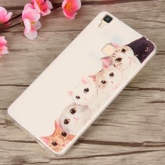 BUILDPHONE 3D Relief TPU Soft Phone Case for 5 5 inch VIVO V3 .