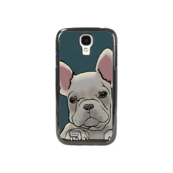 Bulldog Dog Pattern Phone Case for Samsung Galaxy S4 (Multicolor)