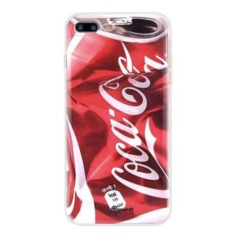(Buy 1 get 1 free) Creative Camouflage Print Silicone / TPU Shockproof Phone Case Cover for Apple iPhone 5 / 5s / SE - Bad Coca Cala - intl Price Philippines