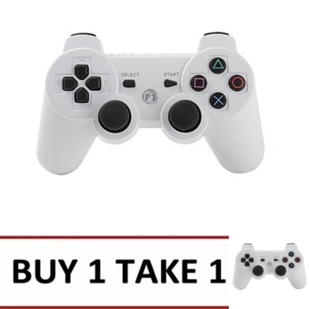 BUY 1 TAKE 1-A-K Wireless Bluetooth Game Controller For Playstation PS3 Dualshock 3 #22A (WHITE)