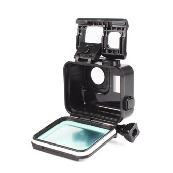 BUYINCOINS For Gopro Hero 5 Accessories 45m Waterproof Hoursing Case with Touch Black Cover - intl - 3