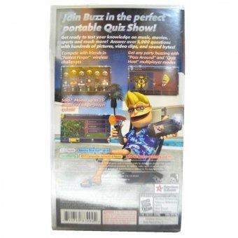 Buzz Master Quiz PSP Game R1 - 2