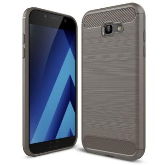 BYT Carbon Rugged Armor Cover Case for Samsung Galaxy A7 (2017) -intl