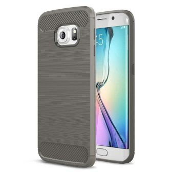 BYT Carbon Rugged Armor Cover Case for Samsung Galaxy S6 Edge - intl