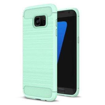 BYT Carbon Rugged Armor Cover Case for Samsung Galaxy S7 Edge - intl