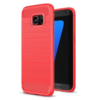 BYT Carbon Rugged Armor Cover Case for Samsung Galaxy S7 Edge -intl
