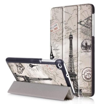 BYT Colorful Printing Tablet Leather 3 Folio Flip Cover Case forHuawei MediaPad T2 7.0 / MediaPad T1 7.0 - intl