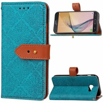 Byt Euro Mural Leather Flip Cover Case For Samsung Galaxy J7 Prime On7 .