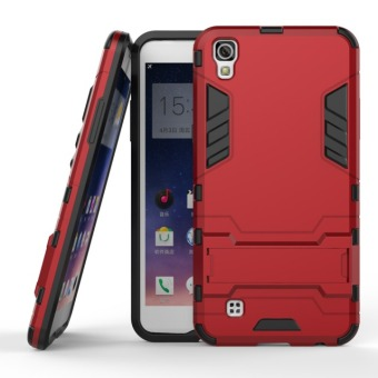 BYT Iron Man Hybrid Phone Case for LG X Power (Red)