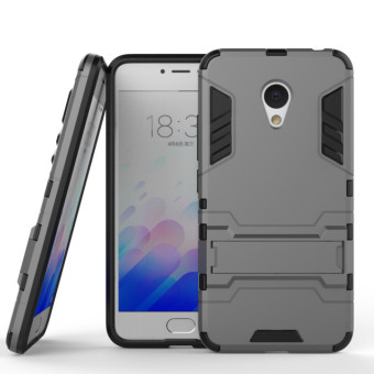 BYT Iron Man Hybrid Phone Case for Meizu Meilan3 M3 (Grey)