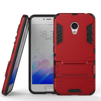 BYT Iron Man Hybrid Phone Case for Meizu Meilan3 M3 (Red)