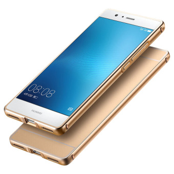 BYT Metal Bumper+PC Back Cover Case for Huawei P9 Lite (Gold) - 5