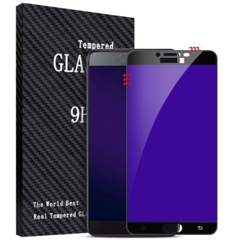 BYT Purple Light Tempered Glass for Samsung Galaxy C9 Pro, Premium9H Hardness 3D Curved Anti-Bluelight Eye-protected Full ScreenCoverage HD Tempered Glass Screen Protector (2pcs Pack) - intl