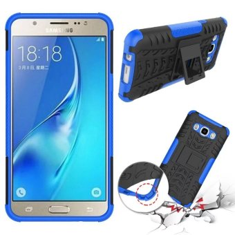 BYT Rugged Dazzle Case for Samsung Galaxy J5 2016 with Kickstand (Blue)