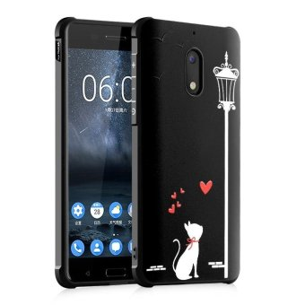 BYT Silicon Debossed Printing Cover Case for Nokia 6 - Int'l