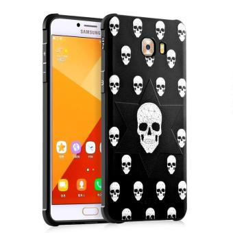 BYT Silicon Debossed Printing Cover Case for Samsung Galaxy C9 Pro- intl