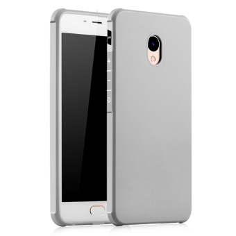BYT Silicon Screen Protective Cover Case for Meizu M3E Meilan E(Grey) Price Philippines