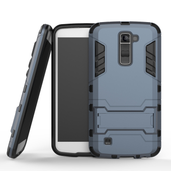 BYT TPU+PC Hybrid Phone Case for LG K10 (Black)