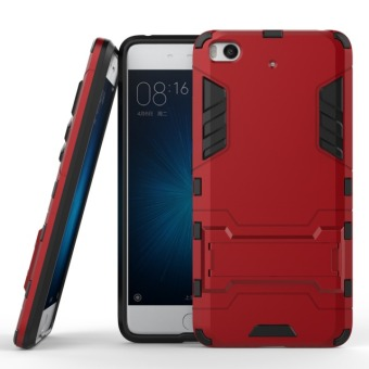 BYT TPU+PC Neo Hybrid Phone Case for Xiaomi Mi 5s (Red)