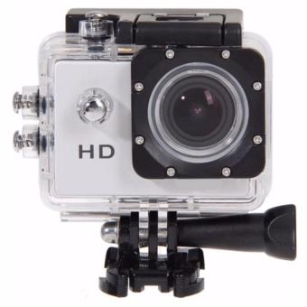 C5 Underwater HD DV 5MP Waterproof Action Sports Camera (Silver)