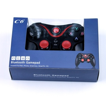 C6 Android IOS King Glory Wireless Bluetooth Mobile GameHandle(Black) - intl - 2