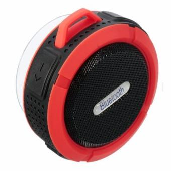 C6 Portable Wireless Shower Bluetooth Speaker Sucker Waterproof - 3