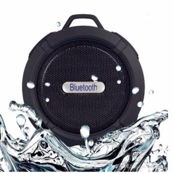 C6 Sport Shockproof Waterproof Bluetooth HiFi Outdoor Speaker(Black)