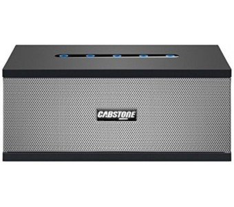 Cabstone Bluetooth Rechargeable Portable Speaker (Black)