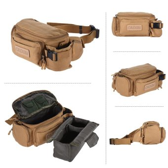 CADeN Canvas Handy Shoulder Carrying Waist Bag Camera Bag Case for Sony ILCE-7R ILCE-6000 ILCE-7 ILCE-7M2 HX90 ILCE-5100 ILCE-6000 ILCE-7S for Canon EOS M2 X-M1 X-T10X-A1 for Nikon 1J4 1J5 V3 Q10 ILDC Micro Camera DV Cam Outdoorfree - intl