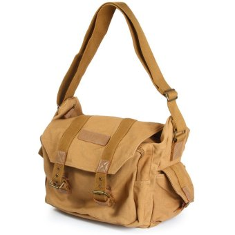 Caden F1 Portable Vintage Canvas DSLR Camera Shoulder Bag Diagonal Shoulder Messenger Bag for Canon Nikon Sony Olympus Pentax