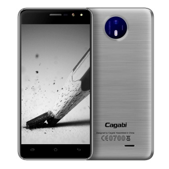 "Cagabi One 5"" HD 2.5D Curved 3G Phone, 1G RAM + 8G ROM - Silver -intl Price Philippines"