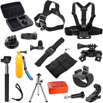 Camera Accessories Set for GoPro HD Hero 4/ 3+/ 3/ 2