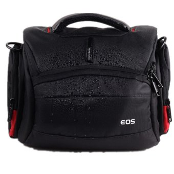 Camera Case Bag for Canon DSLR 700D 100D 650D 600D 60D 6D 5D 7D 400D 1100D 550D (Black)