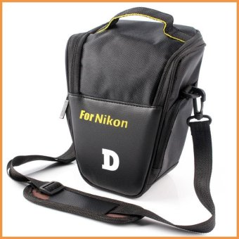 Camera Case Triangle Bag Cover For Nikon DSLR D3400 D3100 D3200D3300 D5500 D5300 D5100 D5200 D7300 D7200 D7100 D50 D60 D90 D300 -intl