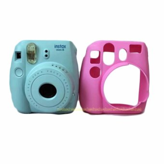 Camera Video Bag PVC silicone case for Fujifilm Instax Mini 8 Fuji Mini-8 - intl