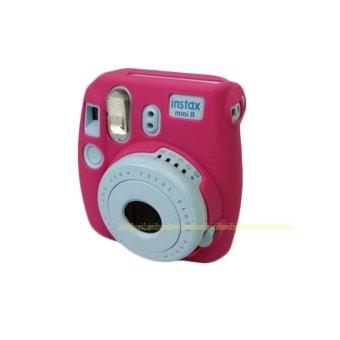 Camera Video Bag PVC silicone case for Fujifilm Instax Mini 8 Fuji Mini-8 - intl - 3