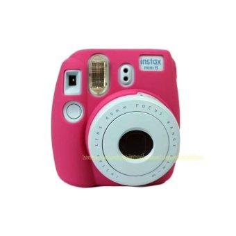 Camera Video Bag PVC silicone case for Fujifilm Instax Mini 8 Fuji Mini-8 - intl - 2