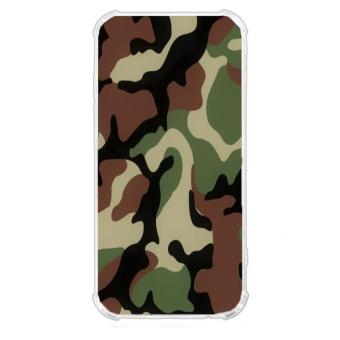Camouflage Design TPU Back Cover Case for LG Stylus 3