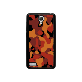 Camouflage Pattern Phone Case for Xiaomi Redmi Note (Black)