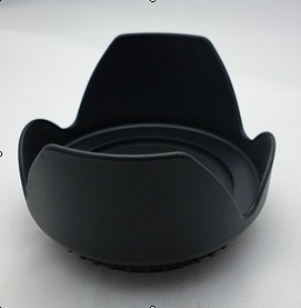 Canon 550d/600d/58mm suitable lens petal Lens Hood Lotus cover